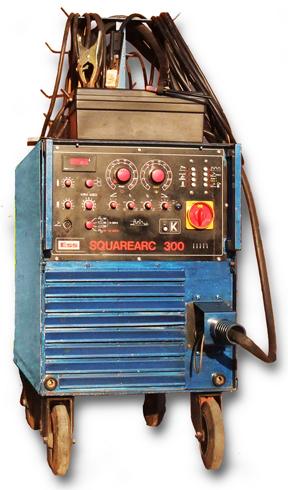 Svářečka ESS Schweisstechnik Squarearc 300 – Oprava