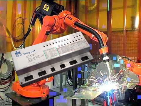 MK1234-21 IDEC Robot Safety Unit signalizing Rye Error