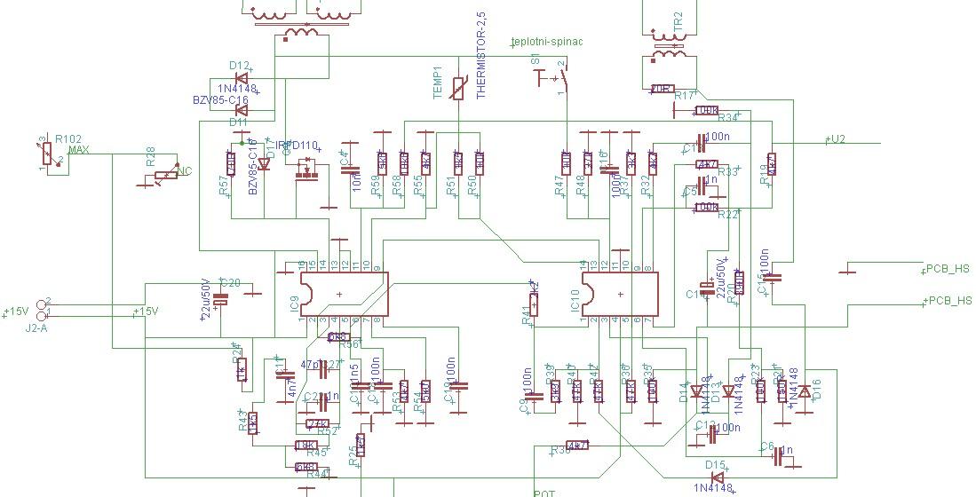 Ks Electronic Opravy Ridicich Jednotek Nakresleni Schema Desky