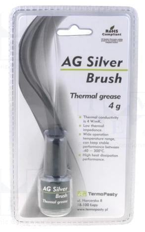 Termální pasta Silver Brush 4g AG (tepelně vodiva)