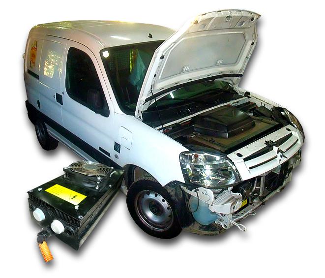 Oprava nabíjení elektromobilu