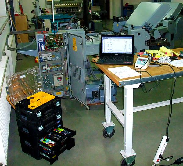Stahl Ti 52 Ti 40 Heidelberg Proline Folding Machine  SGM-1 90-0261-04 – Oprava falcovacího stroje