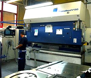 Trumpf TrumaBend V130 - R-Axis CNC Control Repair
