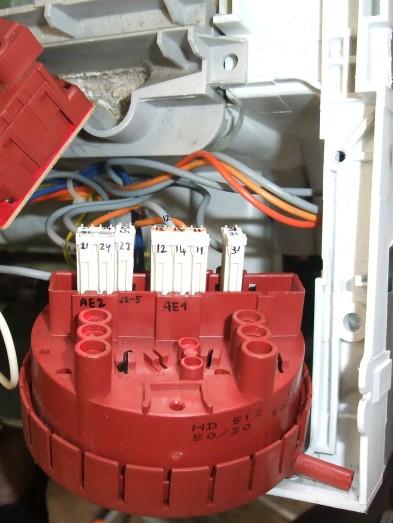 Hladinový senzor pračky