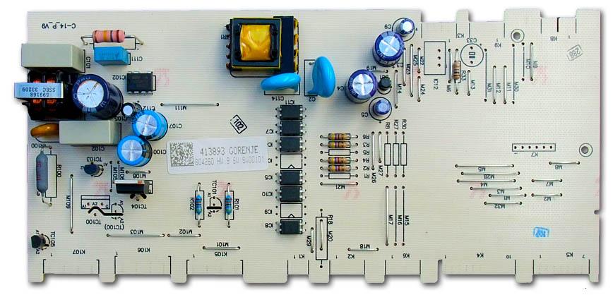 GORENJE 413893  – Oprava elektroniky lednice NRK6192TX