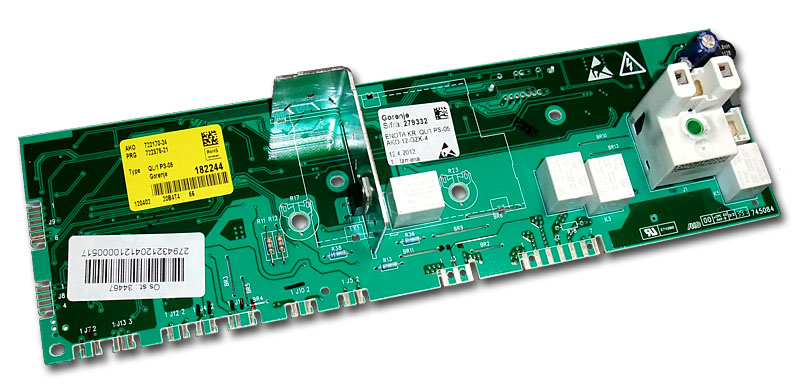 AKO 722170 – Oprava programátoru pračky Gorenje